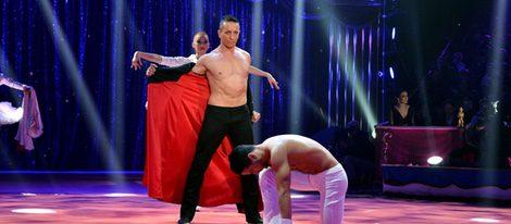 Adans Lopez Peres en su actuación en el 40 aniversario del Festival de Circo de Monte Carlo