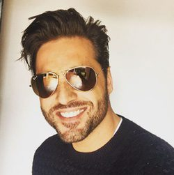 David Bustamante con barba