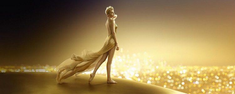 La actriz Charlize Theron sigue poniendo rostro al perfume J'adore