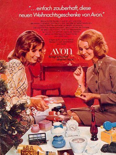 Anuncio alemán de Avon de los años 20