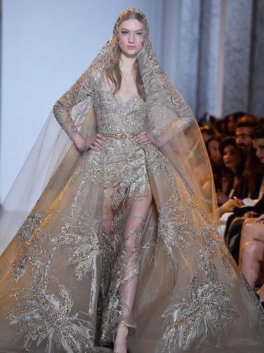 Vestido de novia de la primera colección para primavera 2017