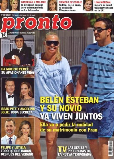 Bel n esteban y su novio ya viven juntos en 39 pronto for Revista pronto primicias ya