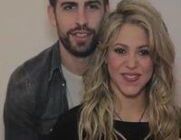 Gerard Piqué y Shakira promocionan el baby shower solidario de Milan para UNICEF