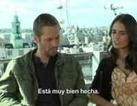 Entrevista exclusiva de Paul Walker y Jordana Brewster en 'Fast & furious 6'