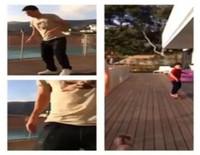 Leo Messi se inicia como skater con el hijo de Daniella Semaan como profesor