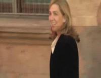 Salida de la infanta Cristina tras declarar como imputada en los juzgados de Palma