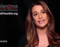 Lea Michele en la campaña 'Its THAT worth it' de L'Oreal contra el melanoma