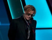 Johnny Depp borracho en los Hollywood Film Awards 2014