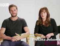 Dakota Johnson y Jamie Dornan promocionan 'Cincuenta sombras de Grey' en Glamour