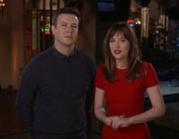 Dakota Johnson promociona su visita a 'Saturday Night Live'
