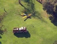 Harrison Ford se estrella con su avioneta en un campo de golf