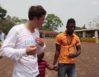 Orlando Bloom viaja a Liberia como embajador de buena voluntad de Unicef