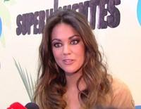 Lara Álvarez en la presentación de 'Supervivientes 2015'