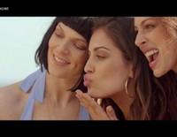 Eva González, Hiba Abouk y Bimba Bosé presentan la colección de baño 2015 de Women'secret