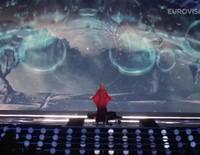 Primer ensayo de Edurne en Viena para Eurovision 2015