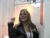 Primera entrevista de Edurne en Viena en el Festival de Eurovision 2015