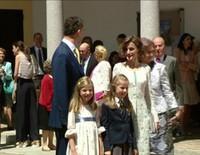 La Princesa Leonor celebra su Primera Comunión: