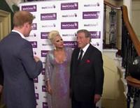 El Príncipe Harry, de concierto con Lady Gaga y Tony Bennett
