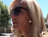 Declaraciones de Carmen Lomana y Rafa Lomana en el funeral de su madre Fefa