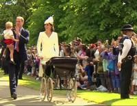 Bautizo de la Princesa Carlota de Cambridge
