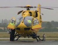 El Príncipe Guillermo se estrena como piloto de ambulancias aéreas