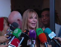 Ana Obregón y Concha Velasco se despiden de Lina Morgan