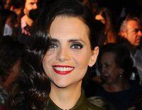 Macarena Gómez se niega a hablar con la prensa en Madrid Fashion Week 2015