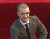 Daniel Radcliffe recibe su estrella en el Paseo de la Fama