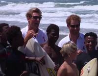El comprometido y divertido periplo del Príncipe Harry por Sudáfrica
