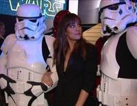Hiba Abouk, Ana Fernández y Peter Vives, fans de 'Star Wars'