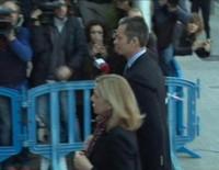 Así entraron en el juicio por el Caso Nóos la Infanta Cristina e Iñaki Urdangarín