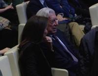 Isabel Preysler y Mario Vargas Llosa recuerdan a Miguel Boyer en la presentación de un libro