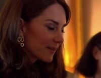 El Principe Guillermo y Kate Middleton en una recepción en Londres