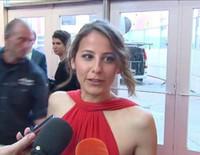 Irene Escolar se niega a hablar de Martín Rivas