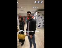 Carlos Lozano discute con Álex Casademunt y Naím Thomas en los pasillos de Telecinco