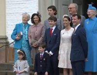 La Familia Real Danesa en la Confirmación de Félix de Dinamarca