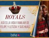 Royals: Los Reyes Felipe y Letizia y sus hijas Leonor y Sofía desvelan cómo es su vida familiar