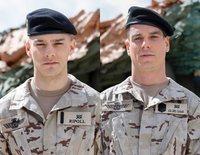 Joel Bosqued y Gonzalo Kindelán, dos militares sexys en 'Los Nuestros 2'