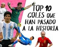¡TamViral!: Top 10 de goles históricos del fútbol