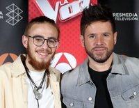 Pablo López y Andrés Martín, felices tras ganar 'La Voz':