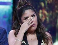 Chabelita Pantoja rompe a llorar sobre el escenario en la presentación de su single